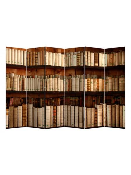 "Ширма 1705-6 ""Библиотека"" (6 панелей)"