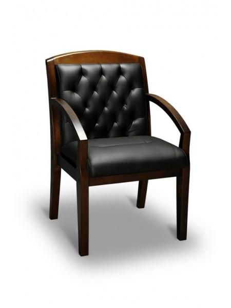 Компьютерное кресло Congress LUX (орех темный/экокожа Черный)