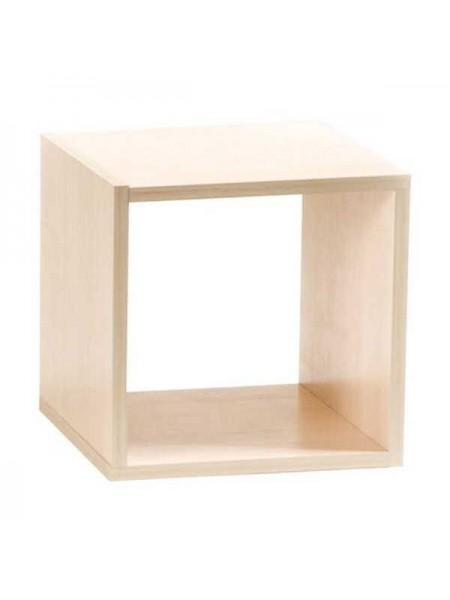 Полка Кубик-1 (Дуб беленый)