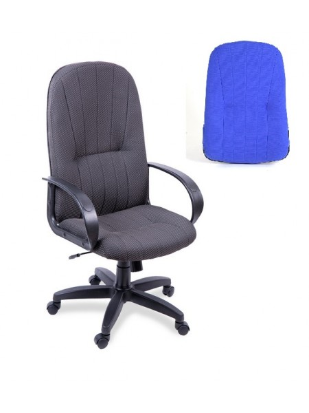 Компьютерное кресло Гармония (спинка/сиденье В-10) синий