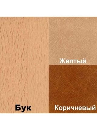 Кухонный уголок Консул МИНИ (Бук/Желтый) кожзам