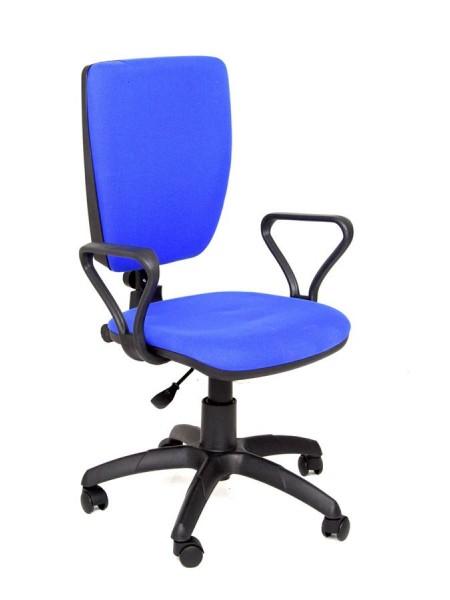 Компьютерное кресло Нота new gtpp (Самба) В-10 (синий,ткань)