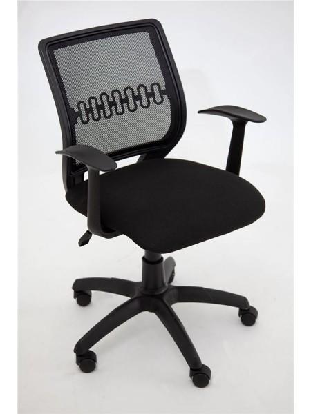 Компьютерное кресло Пента (спинка сетка/сиденье В-14) черный