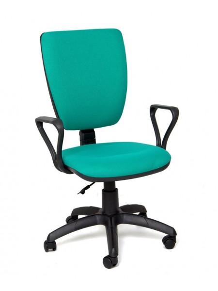 Компьютерное кресло Нота new gtpp (Самба) В-27 (зеленый,ткань)