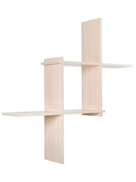 Полка Кубик-3 (Дуб беленый)