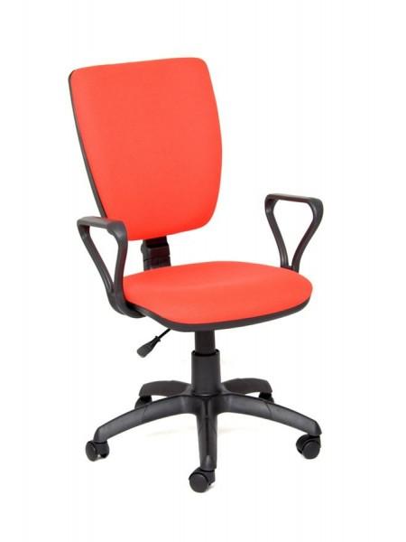Компьютерное кресло Нота new gtpp (Самба) В-7 (красный,ткань)