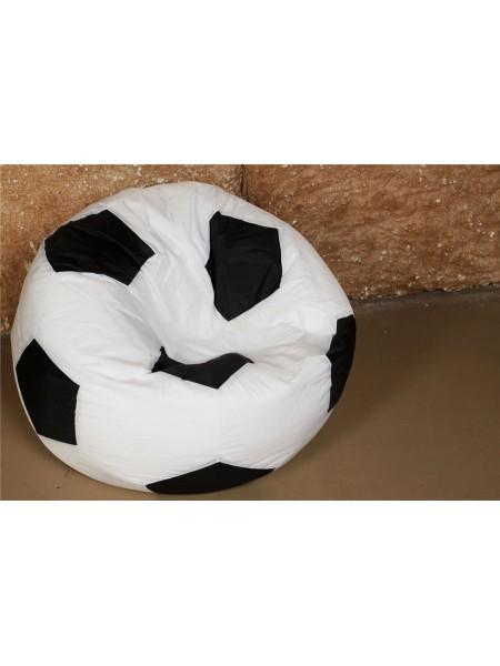 Кресло Мяч Бело-Черный Оксфорд
