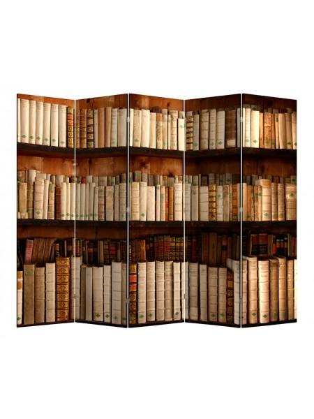 "Ширма 1705-5 ""Библиотека"" (5 панелей)"