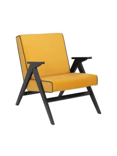 """Кресло """"Вест"""" (Венге/ткань Fancy 48/ кант Fancy 37 )"""