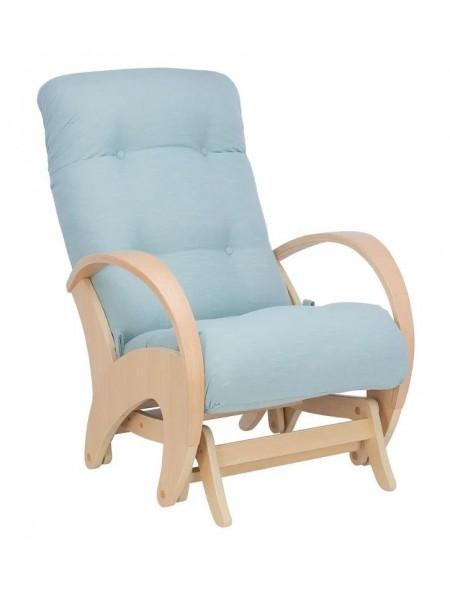 Кресло-глайдер Эстет (Натуральное дерево/ткань Melva 70)