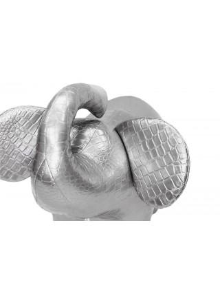 Пуф Слон №2 (Серебристый)