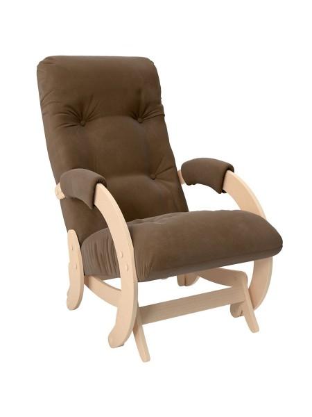 Кресло- гляйдер Модель 68 (Verona Brown/Натуральный/Шпон)
