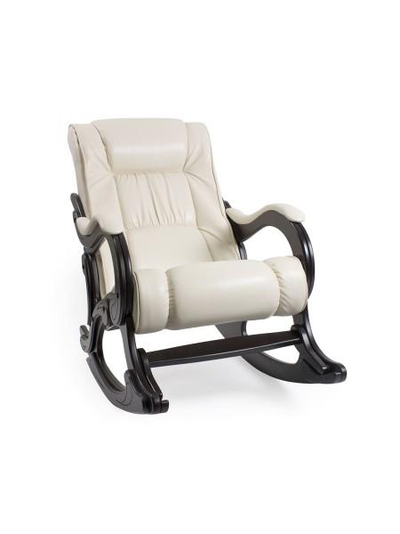 Кресло-гляйдер мод.77 (Манго 002 /Венге) Белый