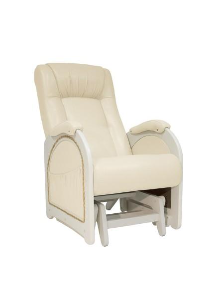 Кресло гляйдер Мод.48 (Дунди-112/Дуб шампань) Бежевый