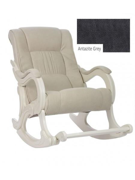 Кресло-гляйдер мод.77 (Antazite Grey/Дуб шампань)