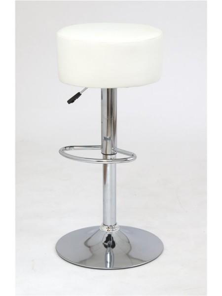 913-S (PU WHITE / хром) / БАЗОВЫЙ / Барный стул