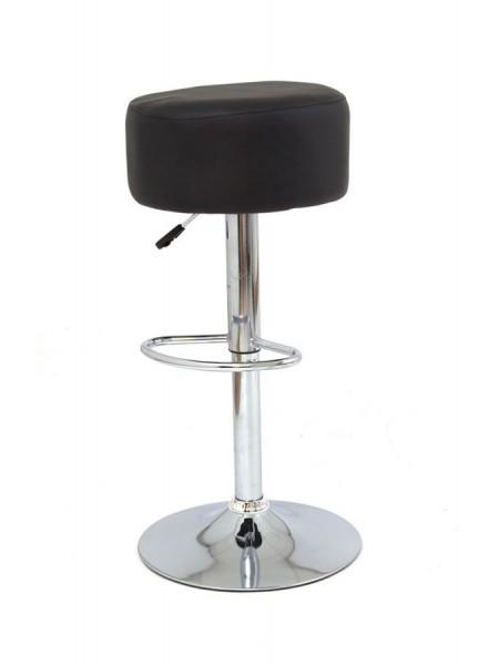 913-S (PU BLACK / хром) / БАЗОВЫЙ / Барный стул