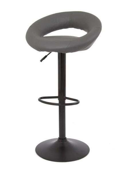 Барный стул S-905B (PU GREY 1001 / черный) КОМБИНИРОВАННЫЙ