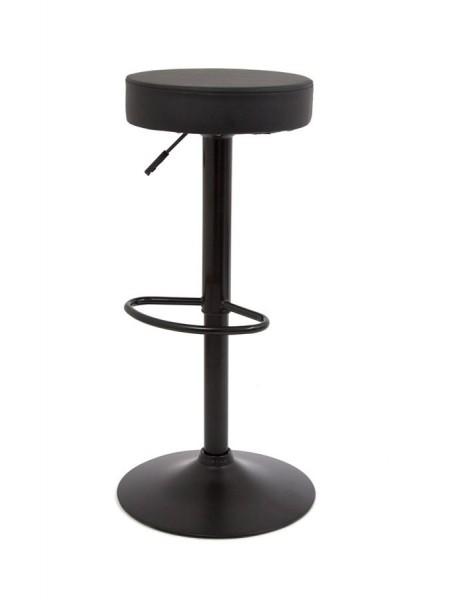 Барный стул S-914 (PU BLACK / черный) КОМБИНИРОВАННЫЙ