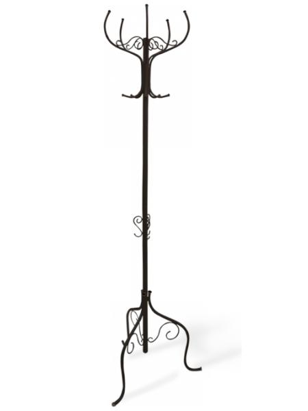 Вешалка для одежды Офис Грация-Р (металл-пластик/черный-черный)