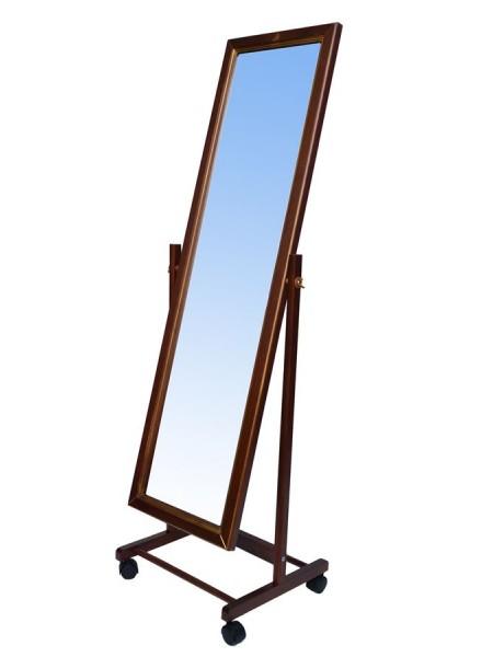 Зеркало напольное (орех)