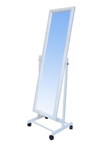 Зеркало напольное (белый)