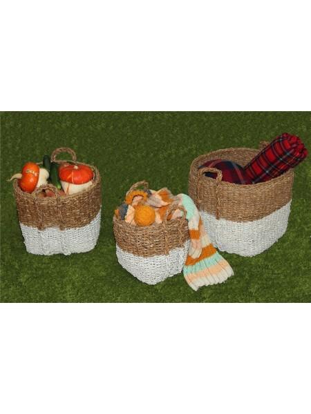Набор плетеных корзин BDH-164 (3шт)