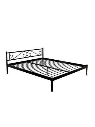 Кровать ШАРМ (120х200/металлическое основание) Бежевый