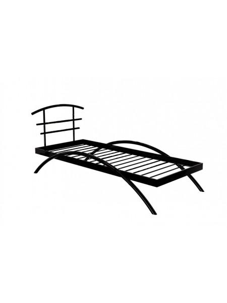Кровать односпальная САКУРА (90х200/Белый/металлическое основание)