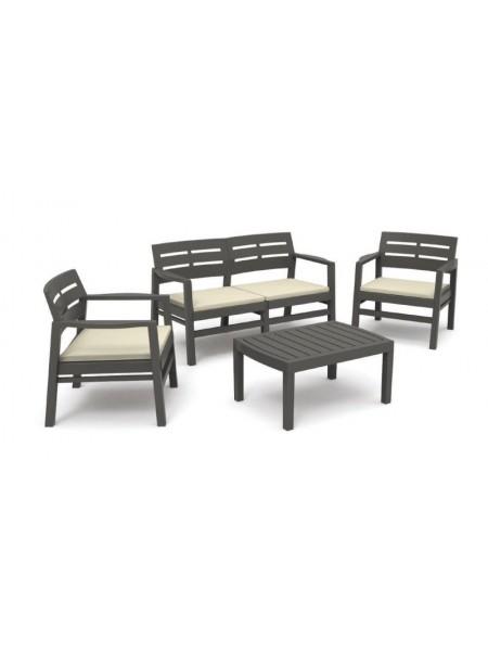 Набор мебели JAVA (04ССА) антрацит