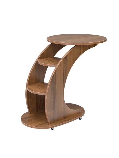 """Подкатной стол """"Стелс"""" (Орех)"""