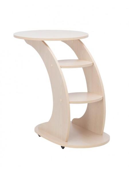 """Подкатной стол """"Стелс"""" (Молочный дуб)"""