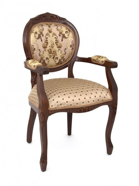 "Кресло ""ОРИОН-2"" п/м (Т-3247 матовый / Brown 206+208) без патины"