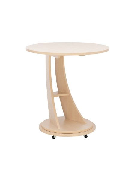 """Подкатной столик """"Акцент 2"""" (Молочный дуб)"""