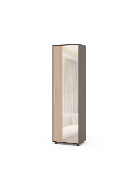 Шкаф для одежды ШО-2 венге/бел.дуб