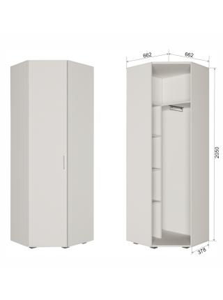 Шкаф угловой без зеркала СР6