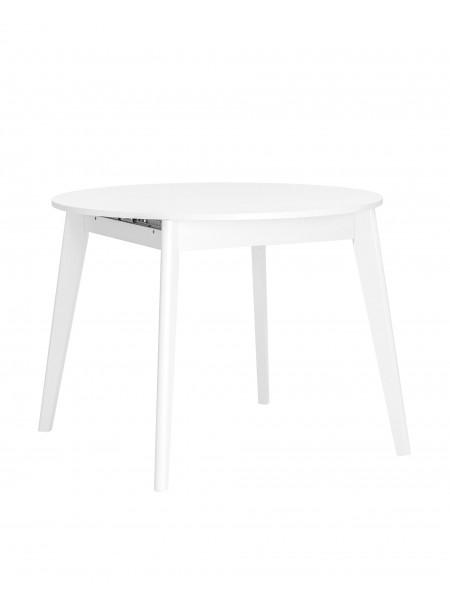 Стол Rondo 100-135*100 белый