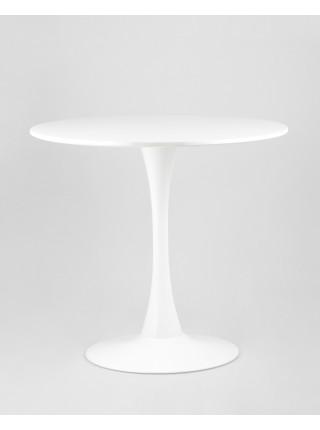 Стол Tulip D80 белый