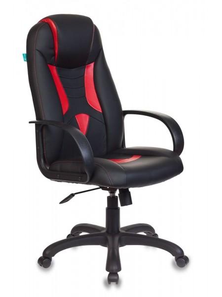 Кресло игровое Бюрократ VIKING-8N/BL-RED черный/красный искусственная кожа