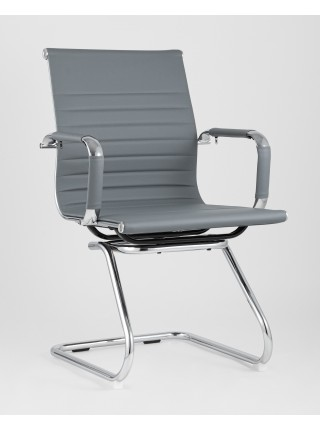 Кресло для посетителей TopChairs Visit серое