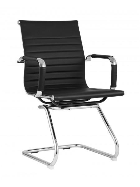 Кресло для посетителей TopChairs Visit черное