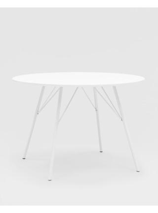 Стол обеденный Мемфис D110 белый
