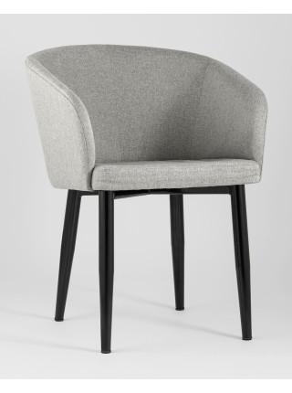 Кресло Ральф рогожка серый