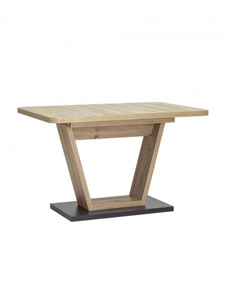 Стол Vector 120-160*80 дуб/графит