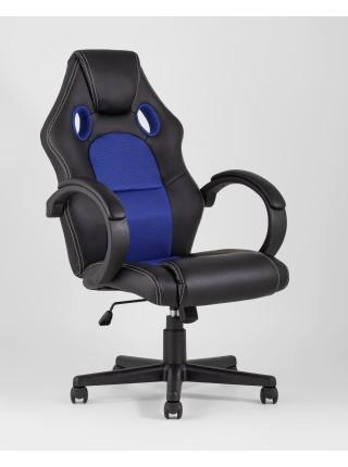 Кресло игровое TopChairs Renegade синее