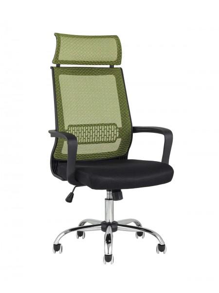Кресло офисное TopChairs Style зеленое