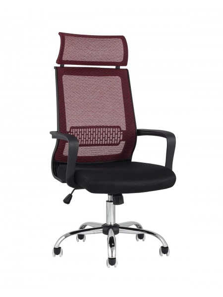 Кресло офисное TopChairs Style красное