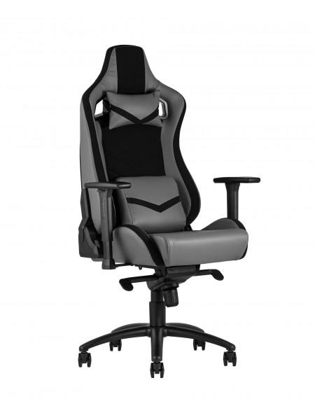 Кресло игровое TopChairs Racer Premium серое