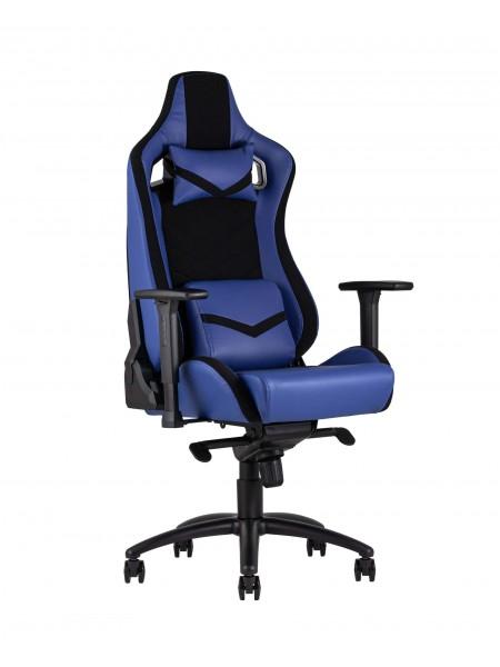 Кресло игровое TopChairs Racer Premium синее