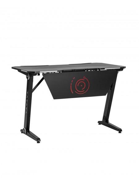 Стол геймерский TopChairs Space LED черный